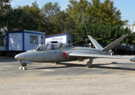 Aérodrome Narbonne Fouga Magister